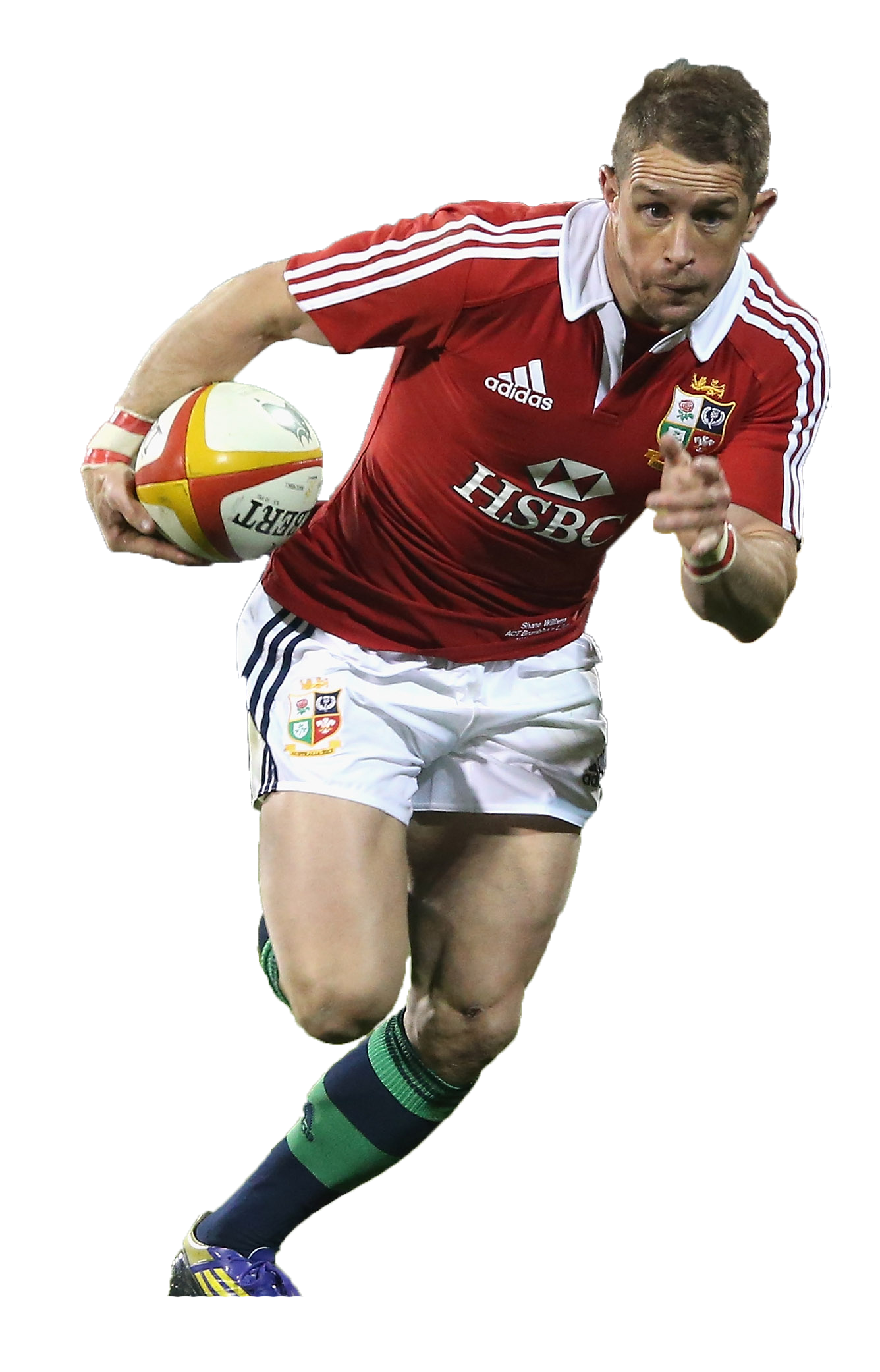 Shane Williams Wales British and Irish Lions Rugby Venatour
