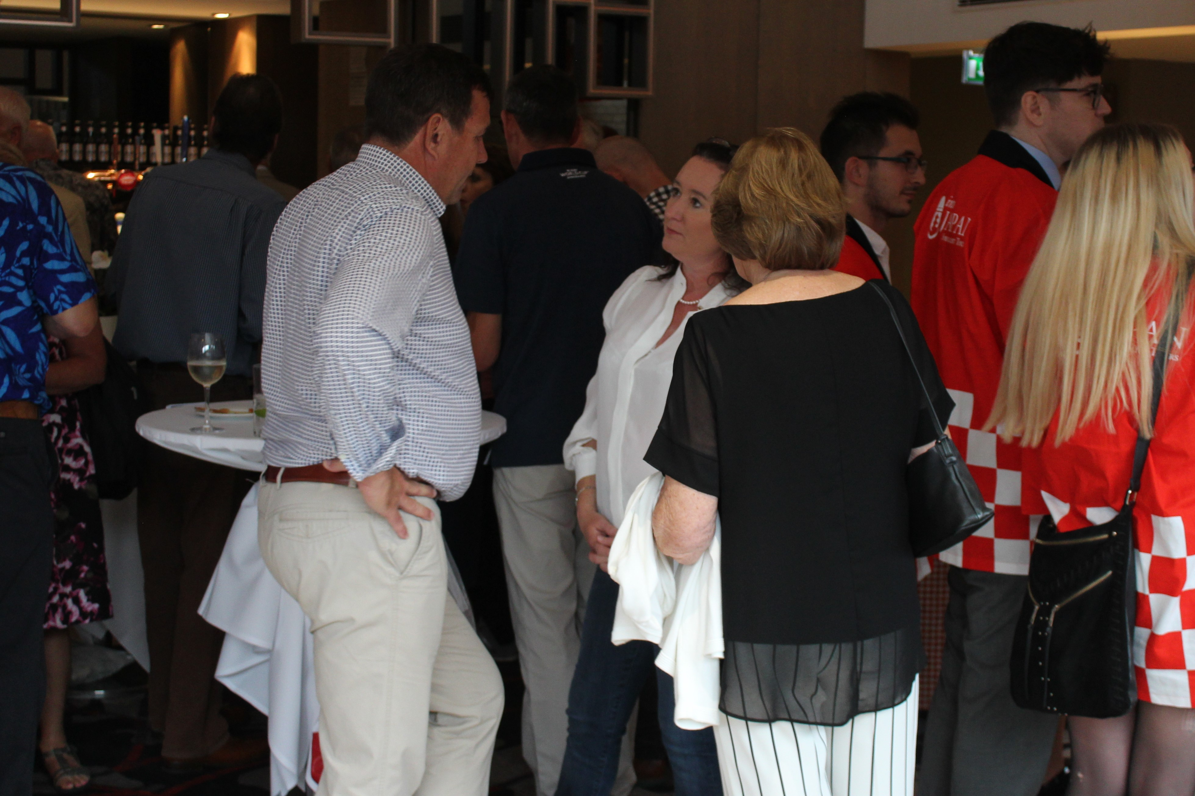 Venatour Clients at the Rugby World Cup Launch Night