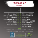 Cooch's England XV vs Tonga | Rugby World Cup 2019™
