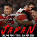 England Rugby Tour Japan 2020