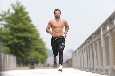 Ben Foden in Body Science Compression Tights Rugby United New York