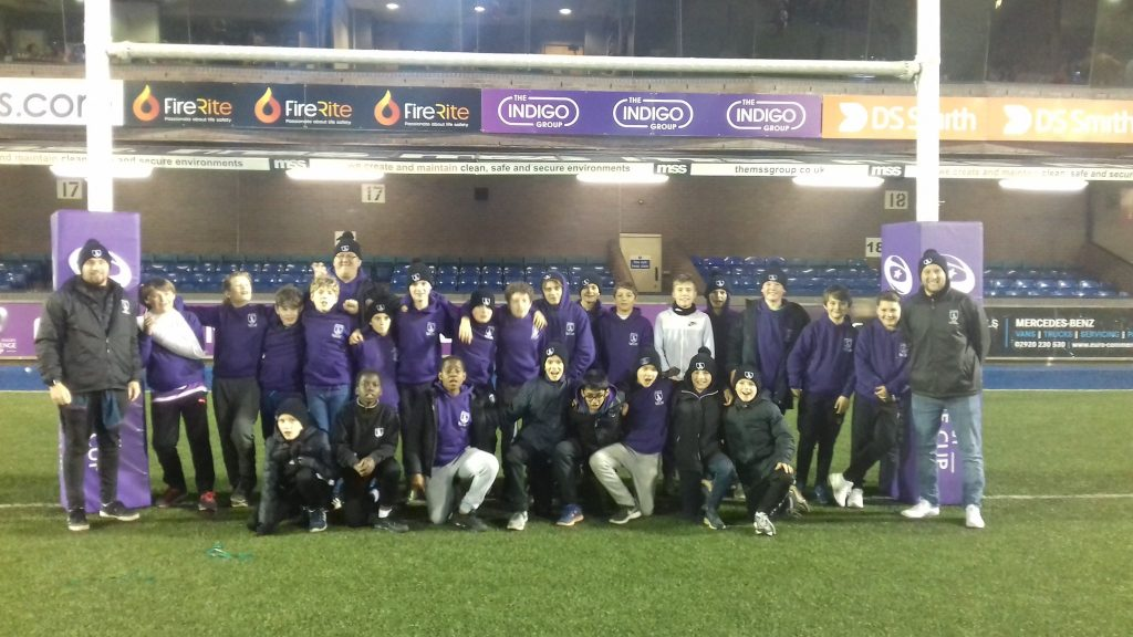 Parkside Prep School Rugby Tour to Wales Cardiff