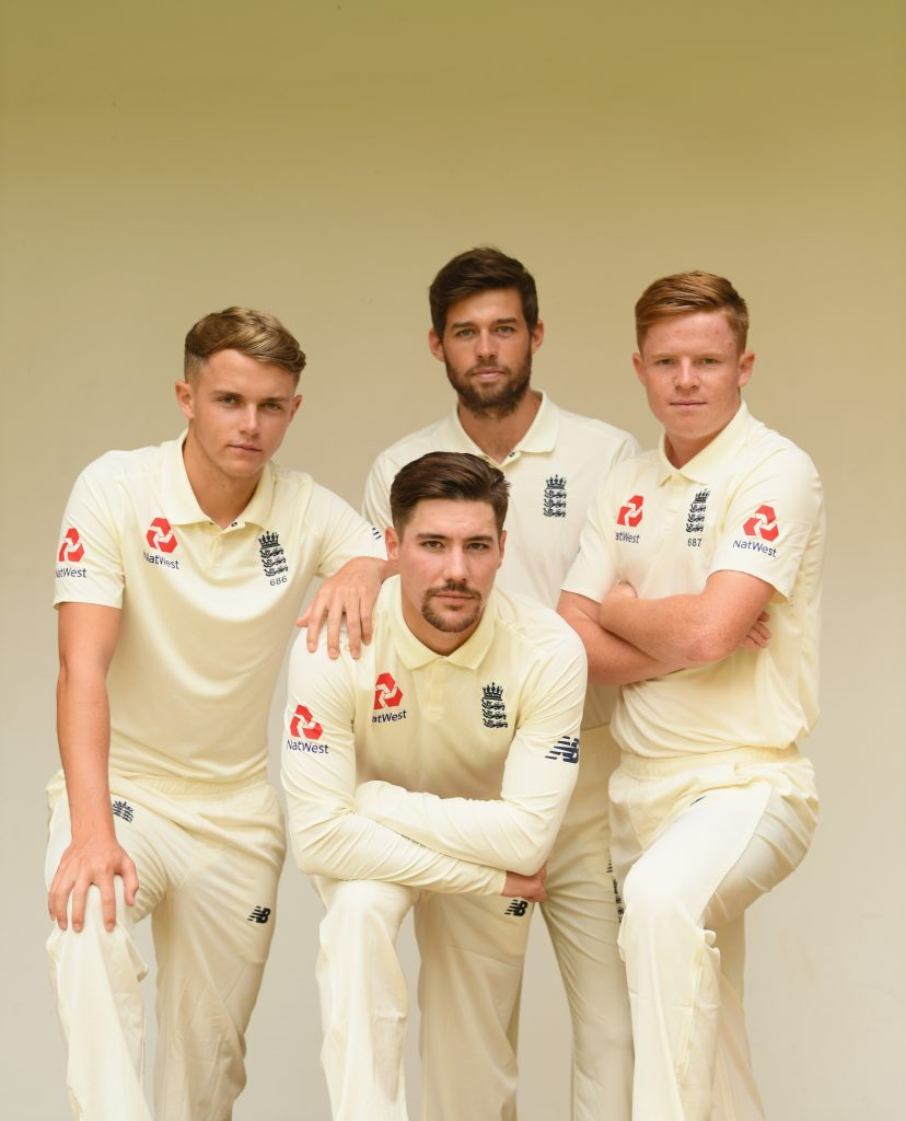 Sam Curran Ollie Pope Ben Foakes Rory Burns Surrey Cricket England Ashes Cricket Tour 2021/22