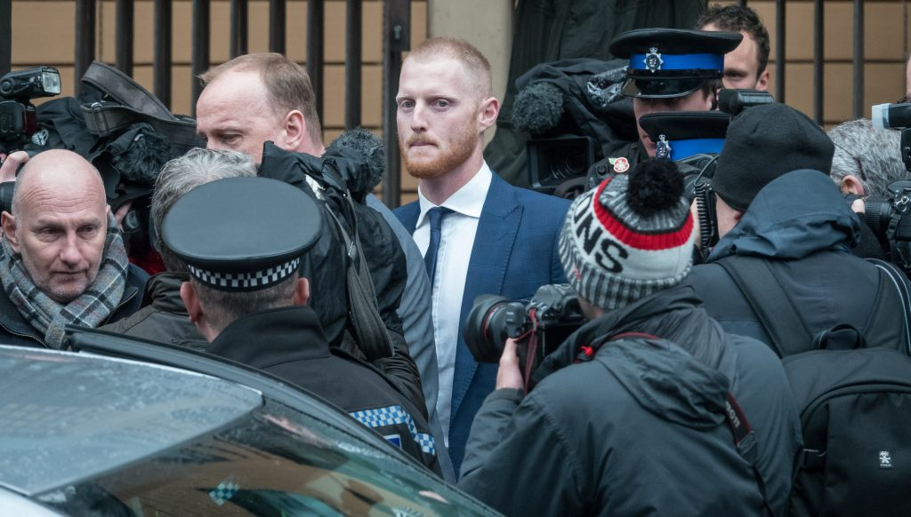 England Cricket Ben Stokes Acquitted for Affray in Bristol Nightclub